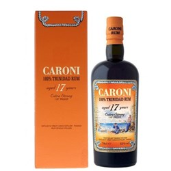 "Rum Caroni ""Extra Strong 110° Proof"" 17 Y.O."