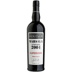 Marsala Vintage 2004 Superiore Dolce - Heritage